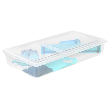 IRIS® 58 Quart Split-Lid Underbed Box, 5 Pack (100501)