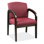 OfficeSource Concourse Series Guest Chair with Arms, Ruby (105ESRUB)