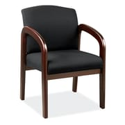 OfficeSource Concourse Series Guest Chair with Arms (105MHBLK)