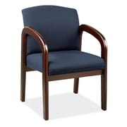 OfficeSource Concourse Series Guest Chair with Arms, Blue (105MHBLU)