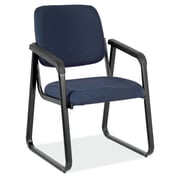 OfficeSource 2708ROYAL Value Guest Series Sled Base Chair with Arms