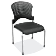 OfficeSource 2794TGBLK Casi Series Gues/Side Chair w/o Arms