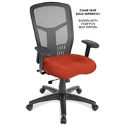 OfficeSource 7701ANSBLK CoolMesh Series Synchro High Back Chair, Seat Sold Separately