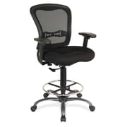 OfficeSource 7851BLK Spice Stool Series Task Stool Without Arms