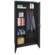 "OfficeSource Deluxe Storage Cabinets Series, Combination Wardrobe/Storage, 72""H x 36""W x 18""D"