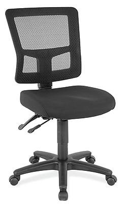 OfficeSource Heitz Series Armless Mesh Task Chair 1929042