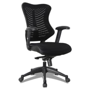 OfficeSource Costa Series Task Chair with Arms (C12MBFSBLK)