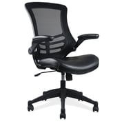 OfficeSource Serene Series Task Chair with Cantilever Arms (S13MBVSBLK)