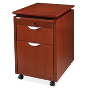OfficeSource by Rudnick Techno Collection 2-Drawer Mobile Box or File Pedestal (TECH76CH)