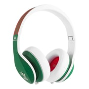 Monster® Adidas Originals Over-Ear Headphones Green Red White