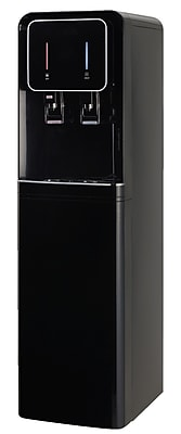 International H2O Bottom Loading Hot and Cold Free-Standing Water Cooler; Black WYF078276865105