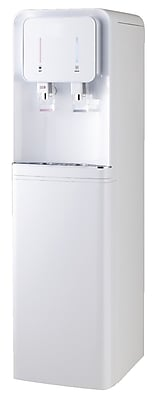 International H2O Bottom Loading Hot and Cold Free-Standing Water Cooler; Pearl White WYF078276865122