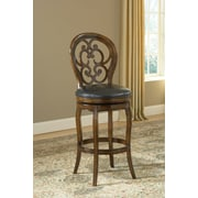 Hillsdale Alexandra 30'' Swivel Bar Stool with Cushion