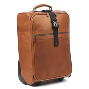 RobertMyers Classic 21'' Trolley Suitcase; Tan