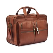 RobertMyers Classic Executive Briefcase; Tan