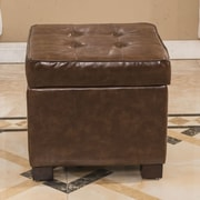 Bellasario Collection Elegant Storage Cube Ottoman