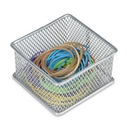 YBM Home Office Desktop and Shelf Organizer Bin/ Basket; 2'' H x 3'' W x 3'' D