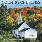 2016 Willow Creek Press 12x12 Country Churches Wall Calendar