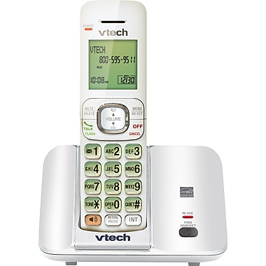 Vtech CS6519-17 Cordless Phone with Caller ID and Call Waiting, White