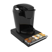 Mind Reader ' Coupe' 30 Capacity Coffee Pod Drawer,  Black (TRY30-BLK)