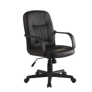 Innovex Leather Conference Chair