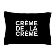 KESS InHouse Creme De La Creme by Geordanna Cordero-Fields White Woven Sham