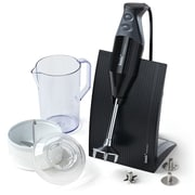 Bamix Swissline - 150 Watt, 2 Speed, 3 Blade Hand Blender w/ Food Processor, Jug and Table Stand