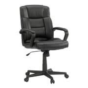 Sauder Gruga Manager''s High-Back Leather Executive Chair