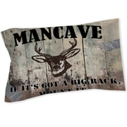 Thumbprintz Mancave II Sham; Queen/King