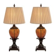 EC World Imports Urban Designs Contemporary 35'' H Table Lamp with Empire Shade (Set of 2)