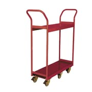 Wesco Mfg. Book Cart; 19'' x 48.625'' x 49.75''