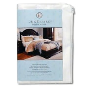 SleepSafeBedding LuxGuard Allergen, Bed Bug and Dust Mite Pillow Protection Zip Cover; Queen