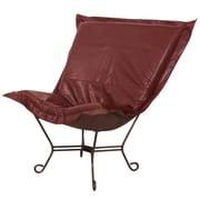 Howard Elliott Puff Scroll Lounge Chair; Avanti Apple