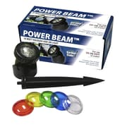 Woodland Imports Power Beam 10 W Light Only with Color Lenses and Stake