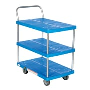 Vestil 500 lbs 3 Shelf Platform Utility Cart