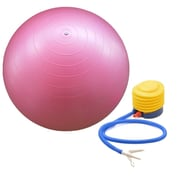 GGI International Yoga and Pilates Stability Ball with Pump; Pink