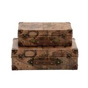 Woodland Imports Era Styled Wood Faux Leather Case
