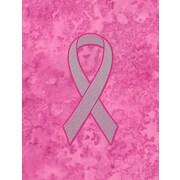 Caroline's Treasures Ribbon for Breast Cancer Awareness 2-Sided Garden Flag