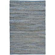 St. Croix Earth First Blue Jeans Handcrafted Area Rug; 5' x 8'