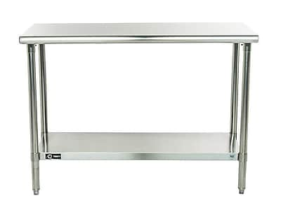Trinity EcoStorage Height Adjustable Stainless Steel Top Workbench