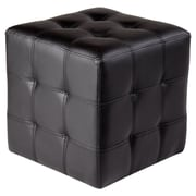 Sunpan Modern Urban Unity Dario Cube Ottoman; Black