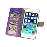 Natico, 60-2400-PR, Iphone 6 Plus Wallet Folio, Purple