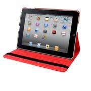 Natico, 60-IA2-360-RD, Ipad Air II 360 Case, Faux Leather, Red