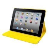 Natico, 60-IA2-360-YW, Ipad Air II 360 Case, Faux Leather, Yellow