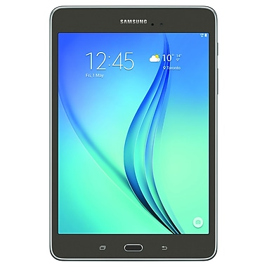 Samsung - Galaxy Tab A (SM-T357WZAAXAC), 8 po, Qualcomm 1,2GHz quadricoeur, RAM 2Go, 16Go, prête pour LTE, bilingue, gris titane