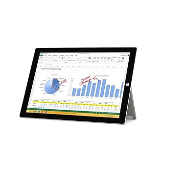 Microsoft - Tablette Surface 3 multitactile, 10,8 po, Intel Atom x7-Z8700 quadricoeur 1,6 GHz avec Intel Burst 2,4 GHz, 64Go