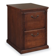 kathy ireland Home by Martin Furniture Huntington Oxford 2-Drawer Vertical File Cabinet; Burnish