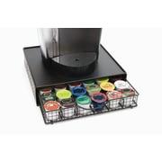 Lipper International Black Wire Coffee Maker Shelf