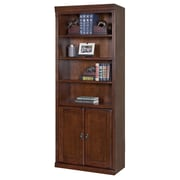 kathy ireland Home by Martin Furniture Huntington Oxford 2 Door 72'' Standard Bookcase; Burnish