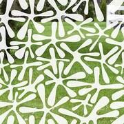 Odhams Press Groovy Amoeba Decorative Window Film; 84'' H x 45'' W